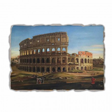 Pamje e Koloseut me harkun e afreskut Kostandin