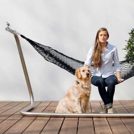 Hammock Steel dhe Black Garden Net Design Made in Italy - Cumberland