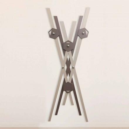 Dru me ngjyra me dizajn modern varet nga druri me ngjyra për hyrje - Picasso