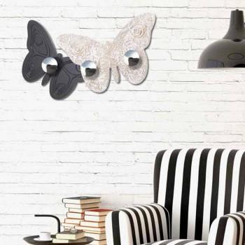 Designer Wall Coat Hook Melitea nga Viadurini Decor, e bërë në Itali
