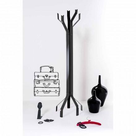 Varëse rrobash e zezë me një dizajn modern Andrea