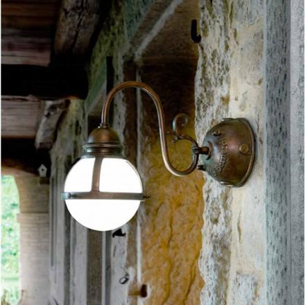 Dizajner prej bronzi dhe muri xhami Sconce Cimosa