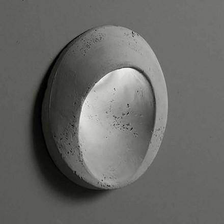 Llambë muri ovale në natyrë në argjilë me ngjyrë Oval - Toscot