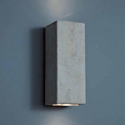 Dizajn LED llambë muri në natyrë në balta të lartë 24 cm Smith - Toscot