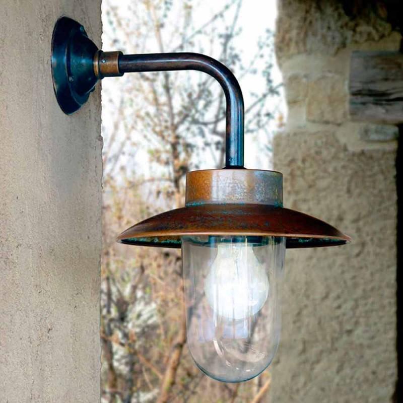 Nabucco Applique, llambë muri, bakër, qelqi, bronzi
