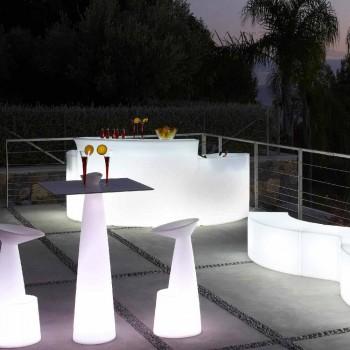 Sportel i shiritave të ndritshëm Stili modern Slide Break Bar i prodhuar në Itali