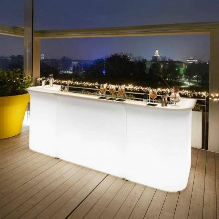 Dizajn modern banak me shirita të ndritshëm kopsht Slide Break Line prodhuar në Itali