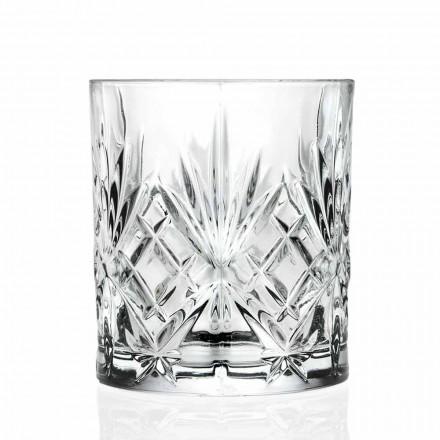 Xham i Dyfishtë i Modës së Vjetër, Stili i cilësisë së mirë Eco Crystal 12 Copë - Kantabile