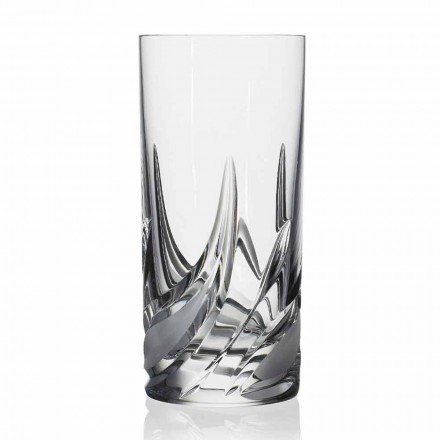 Koktej xhami me kristal të lartë, 12 copë - Advent