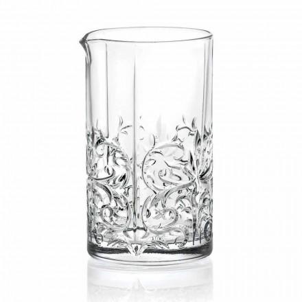 Përzierja e gotës me dizajnin luksoz të dekorimit të çuditshëm 4 copë - Destino