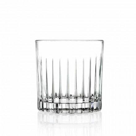 Lowball Tumbler Basso gota të modës së vjetër për Cockatil 12 Copë - Senzatempo