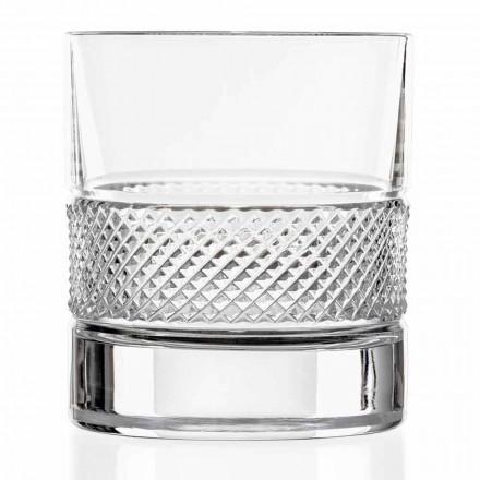 Gota me gumëzhitje të ulët në Eco Crystal me Dekor Luksoz 12 Copë - Milito
