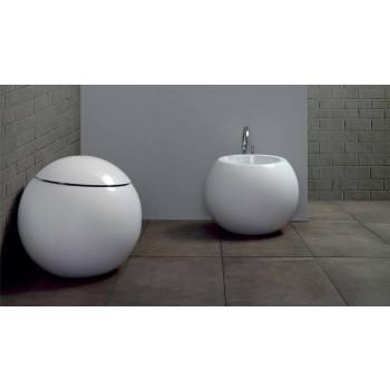 Bidet në formë topi në Qeramikë me ngjyra Fanna