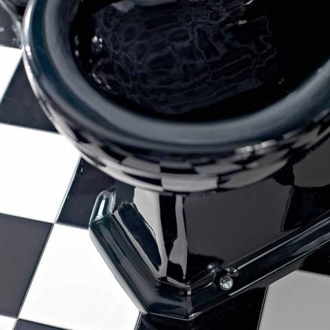 Bidet në Qeramikë Klasike e Bardhë ose e Zezë nga Ground Made in Italy - Marwa