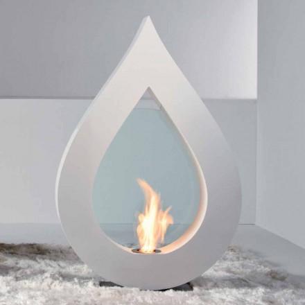 Dizajn modern i pavarur bioethanol oxhak Todd, i bërë në Itali