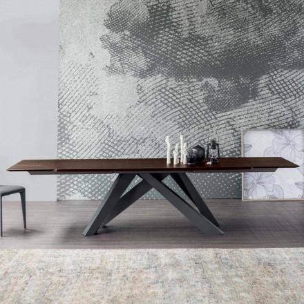 Tabela e Madhe Bonaldo e shtrirë me majë druri, e bërë në Itali