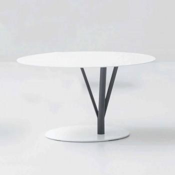 Tabela e projektimit Bonaldo Kadou pikturuar çelik D70cm e bërë në Itali