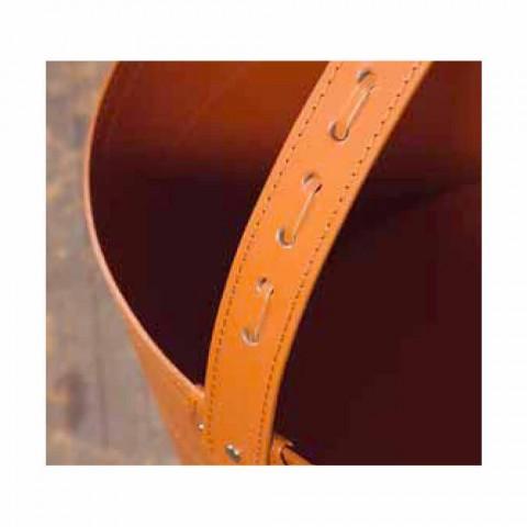 Baganta e druve të zjarrit në lëkurën Milo 100% Prodhuar në Itali