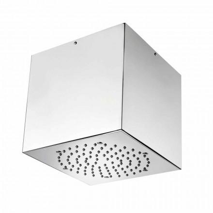 Bossini 1 kreu dush me llak me mbulesë çeliku inox, dizajn modern
