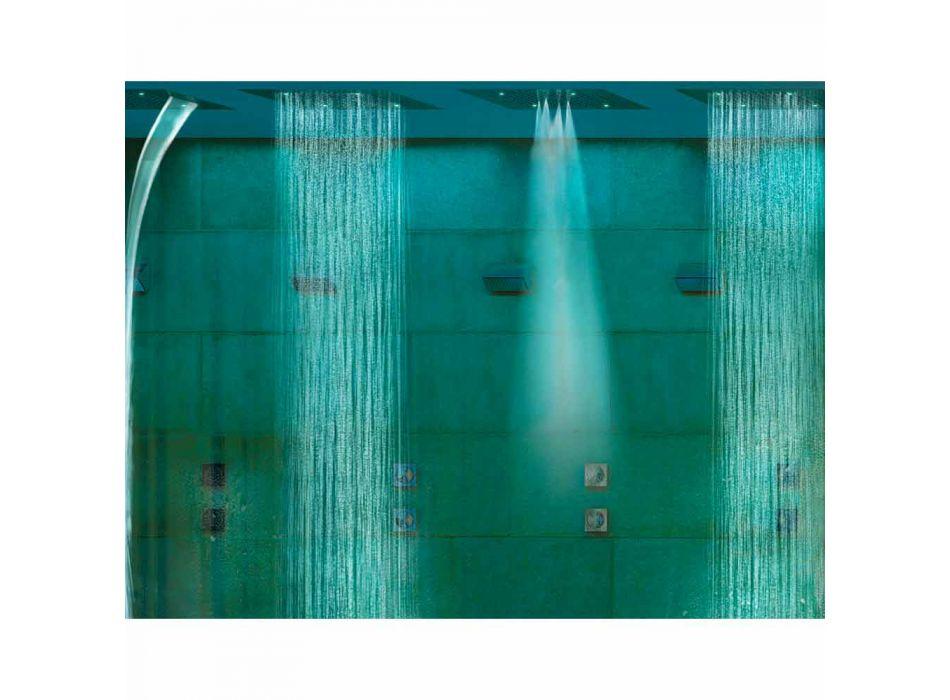 Koka dush Bossini Dream me tre avionë me terapi moderne me ngjyra