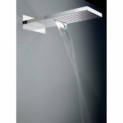 Bossini Manhattan kreu dush në çelik inox me dy avionë
