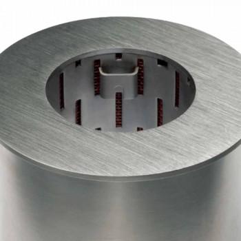 Burner rrethor në çelik saten për fireplace bioetanol - Griff12