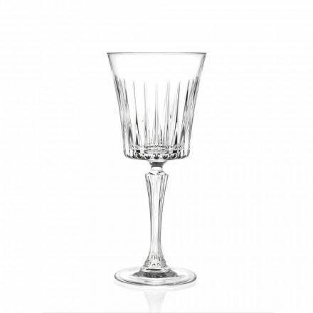 Dizajn luksoze verë dhe gota koktej në Eco Crystal 12 Copë - Senzatempo