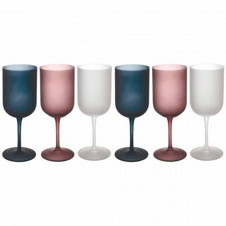 Efekte me ngjyra zhavorri gota vere qelqi të ngrira, 12 copë - Vjeshtë