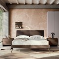 4 Elemente Dhoma gjumi dyshe e prodhuar në Itali Luksoze - Gama