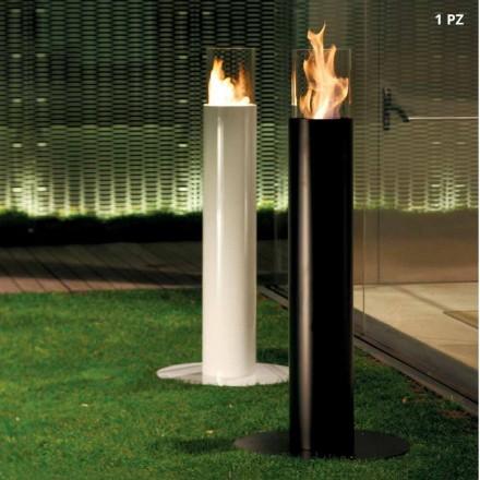 Fireplace bioethanol në natyrë të lirë bërë nga Dean çeliku