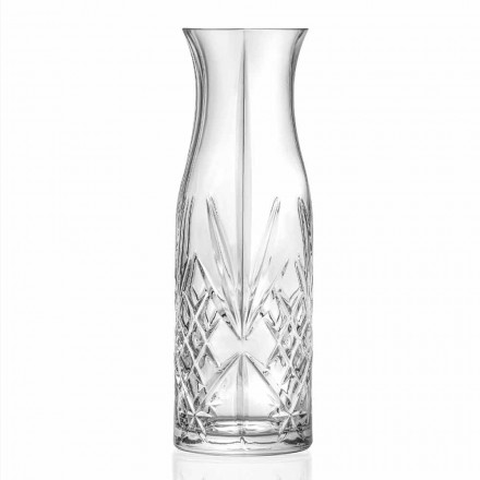 Vintage Design Eco Crystal Water or Wine Jug 4 Copë - Kantabile