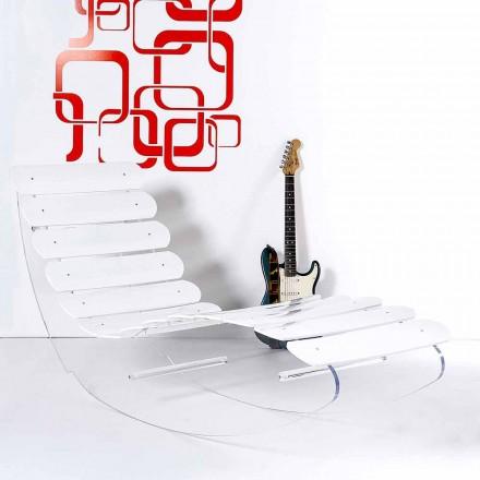 Dizajni modern i karrocave të bëra prej pleksiglasi transparent Josue