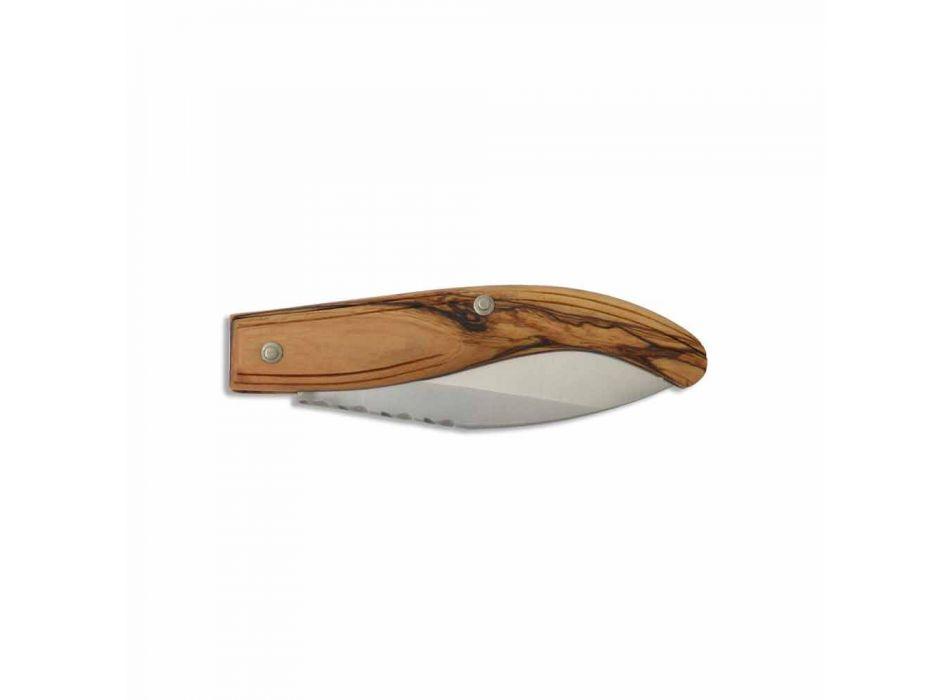 Çeliku i fletës së thikës me dorë Maremma Prodhuar në Itali - Remma