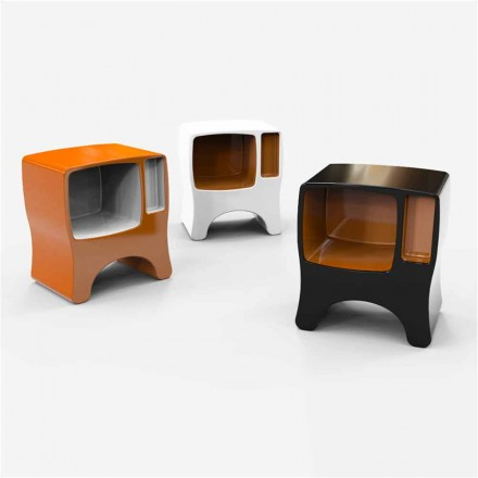 Dizajni modern Tavolina e krevatit të ngurtë Solod Sipërfaqja Catodico, e bërë në Itali