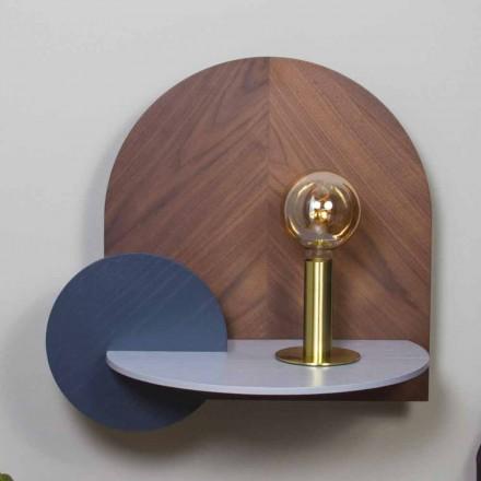 Dizajn modern Tavolina e shtratit që përbëhet nga 3 panele modulare kompensatë - Marea