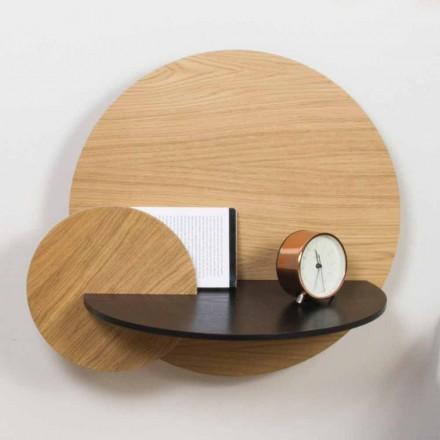 Dizajn elegant i tavolinës së shtratit modular në kompensatë me ndarje të fshehur - Bigno