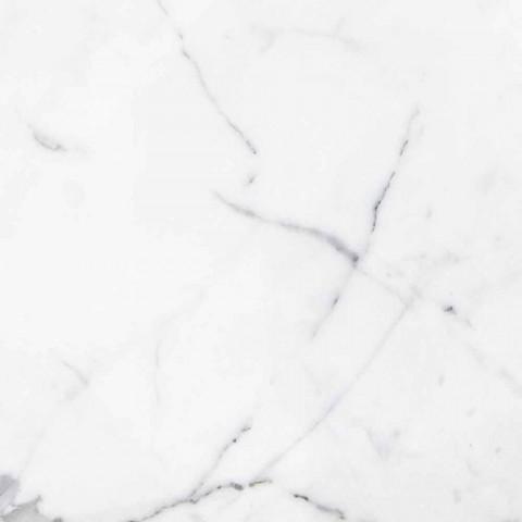 Aksesorët e Banjës së Përbërjes në Mermer të Bardhë Karagara Made in Italy - Tuono