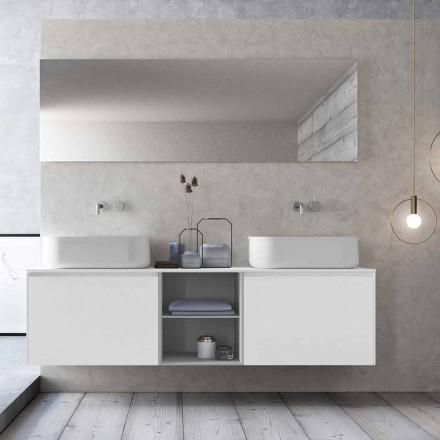 Përbërja e Banjës me Pezullim të Projektimit Modern Prodhuar në Itali - Callisi14