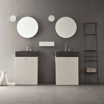 Përbërja e dyshemesë së mobiljeve të banjës me dizajn modern - Farart10