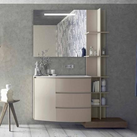 Përbërja e Mobiljeve për Banjën e Dizajnit Modern - Callisi13