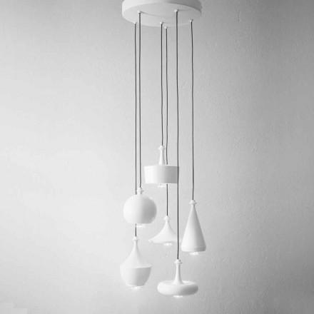Llampat e dizajnit të pezullimit të përbërjes - Lustrini Aldo Bernardi