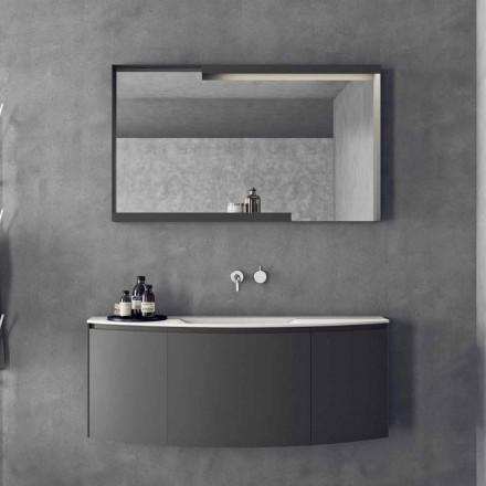 Përbërja e mobiljeve të banjës së pezulluar me dizajn modern - Callisi3
