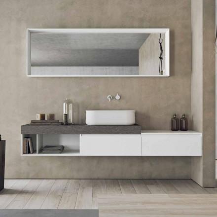 Përbërja moderne dhe e pezulluar e modelit të mobiljeve të banjës - Callisi2