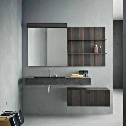 Përbërja për banjën e varur dhe modelin modern të prodhuar në Itali - Farart9