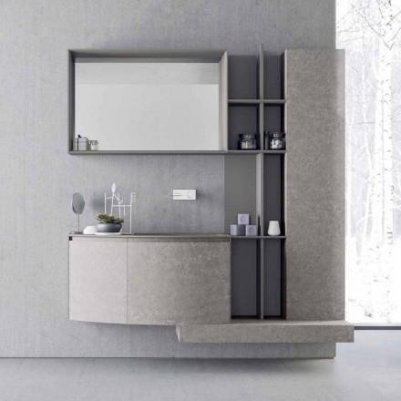 Përbërja e Banjës, Pezullimi i Dizajnit Modern Italian - Callisi10