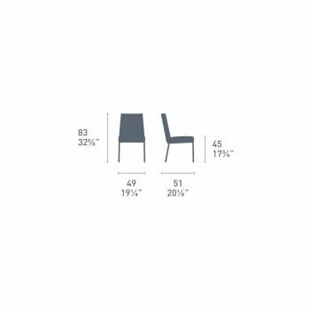 Akademia Connubia Calligaris dizajn karrige polipropileni, 2 copë