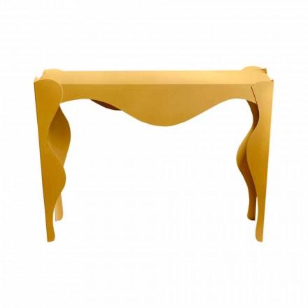 Konsola e dhomës së ndenjes me Dizajn Modern në Hekuri me Ngjyra Made në Itali - Gertrude