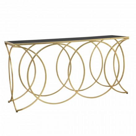 Console Moderne Design në Iron and Mirror - Aletha
