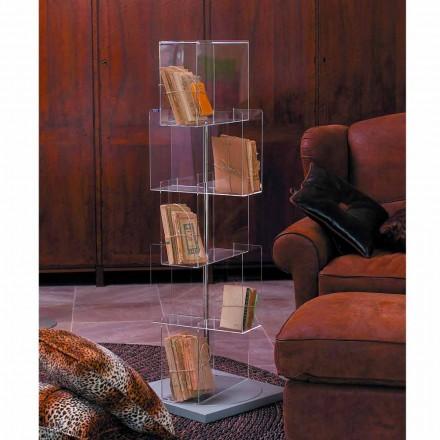 Njësi e ruajtjes me shumë qëllime MDF me bazë të kthyeshme Ted, dizajn modern