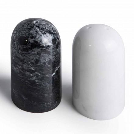 Kontejnerët e Kripës dhe Piperit në Carrara dhe Marquinia Mermer Made in Italy - Xino